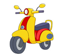 Scooter clipart Size: 106 Results Graphics Scooter