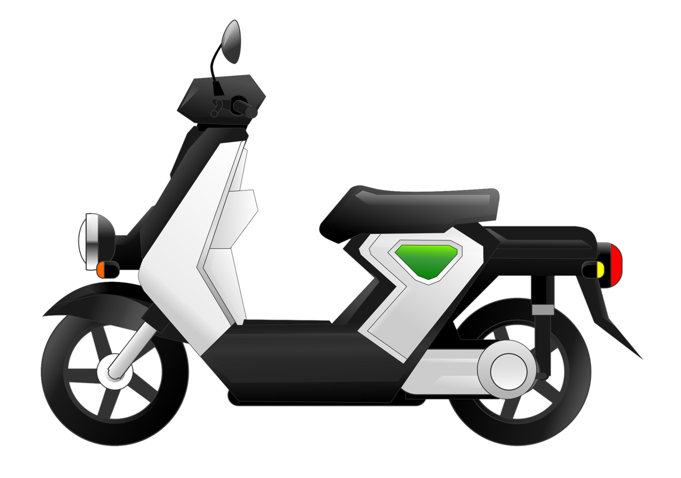 Scooter clipart Domain Clip Art Electric &
