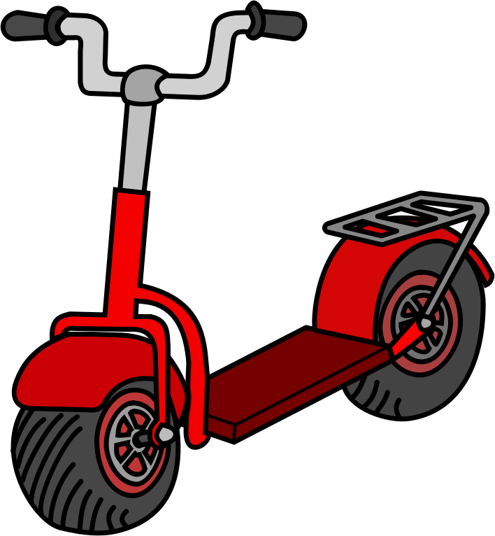 Scooter clipart Clip Public Free Scooter Art