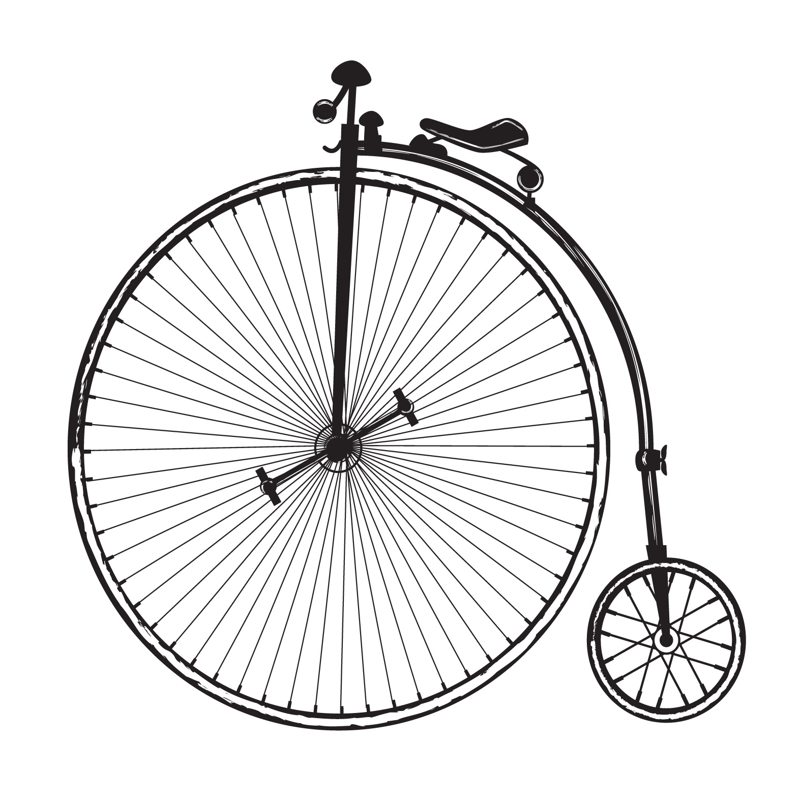 Victorian clipart old fashioned Free bicycle ⎙ me PRINT