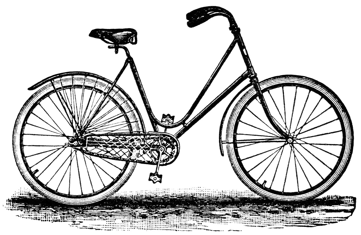 Bike clipart black and white On Nr best about Pinterest