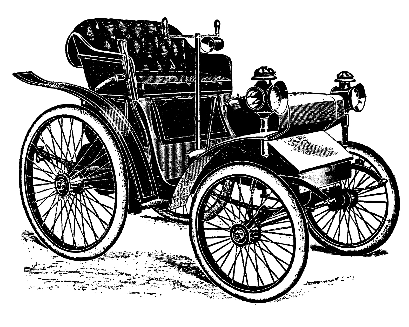 Classical clipart old fashioned car Free vintage Vintage art Free