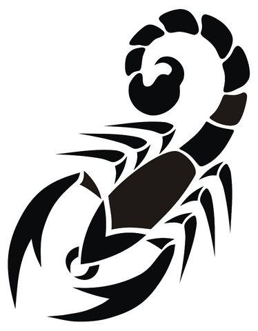 Scorpion clipart #4