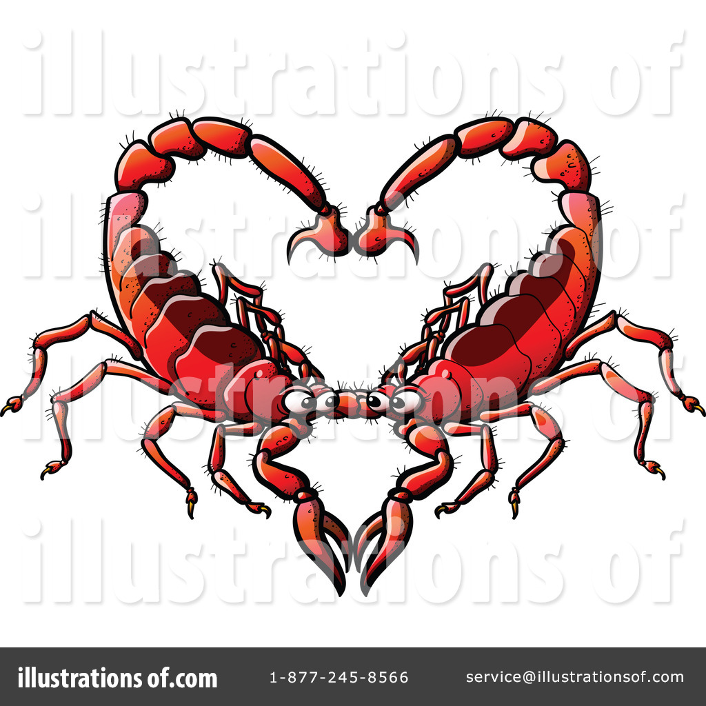 Scorpion clipart desert animal #7