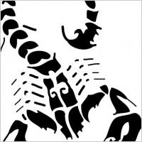 Scorpion clipart killer #11