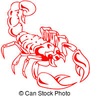 Scorpion clipart poisonous #9