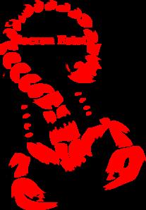 Scorpion clipart red scorpion #3