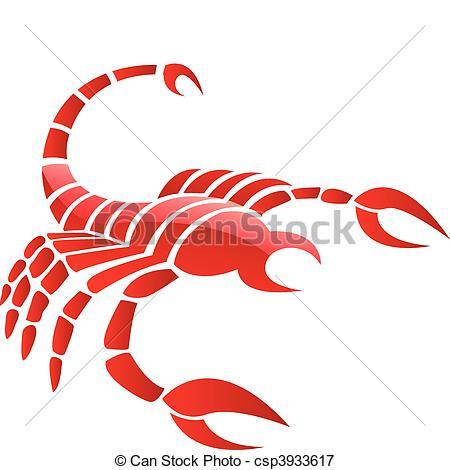 Scorpion clipart red scorpion #5