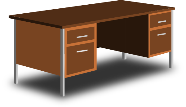Scotch clipart office desk #13