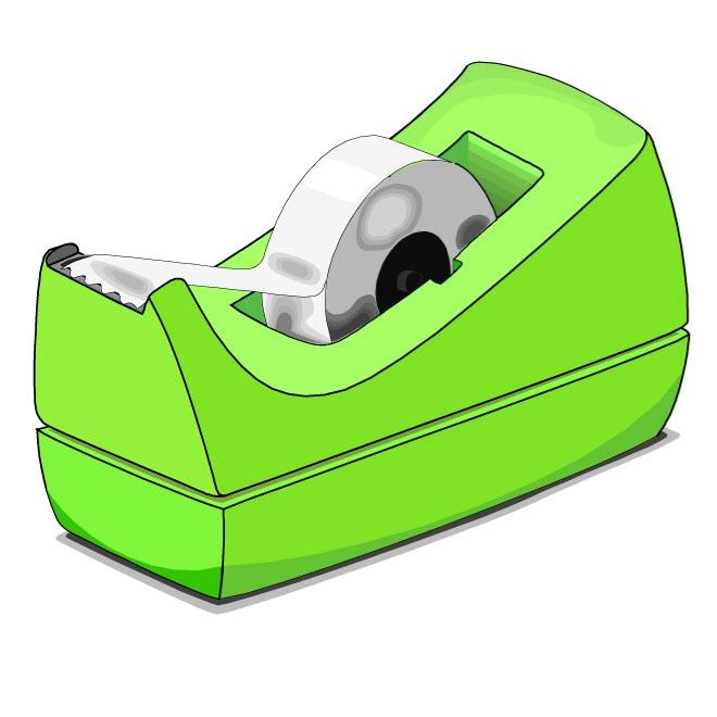 Scotch clipart tape dispenser #1