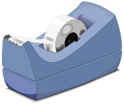 Scotch clipart tape dispenser #8