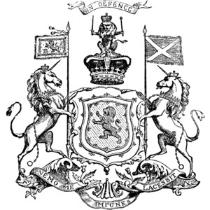 Scotland Clipart Black And White Scotland Arms Royal Arms of