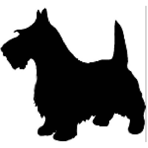 Scottish Terrier  clipart Scotties Scottish Cartoon Pinterest Best