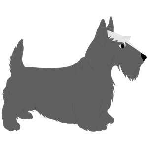 Scottish Terrier  clipart Download cliparts SCOTTIE eps emf