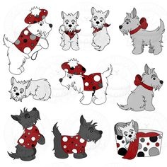 Scottish Terrier  clipart Clipart Silhouette Art Cliparts Clipart
