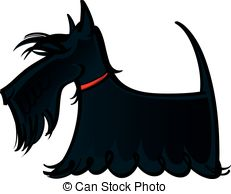 Scottish Terrier  clipart The Scottie illustration and terrier