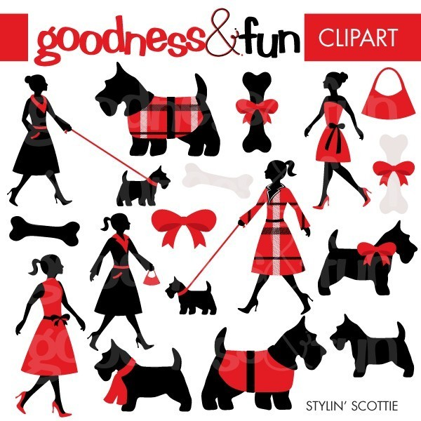 Scottish Terrier  clipart Scottie FREE Get Scottish FREE