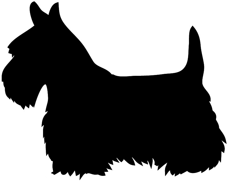 Scottish Terrier  clipart Terrier Festive Scottish Scottish Dog