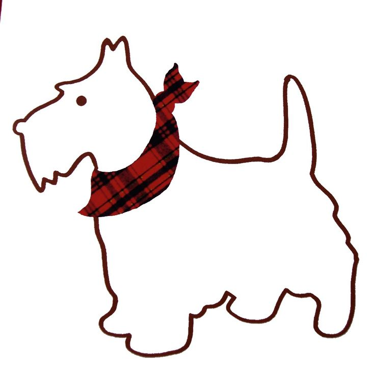 Scottish Terrier  clipart 58 Pattern Dog See images