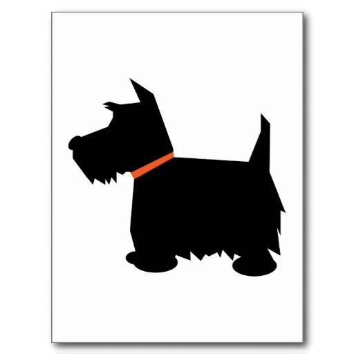 Paw clipart scottie Silhouette Dog dog silhouette dog