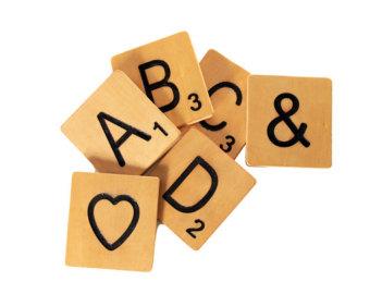 Scrabble clipart Etsy coasters Tiles Home Scrabble