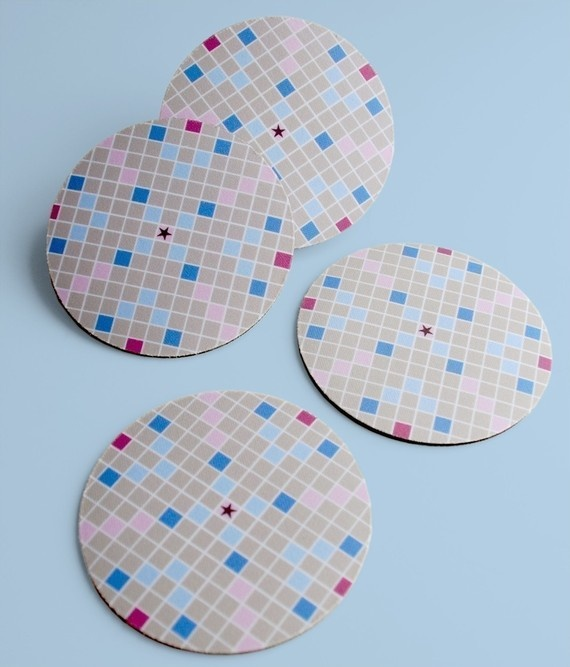 Scrabble clipart courage From coasters! a Recycled about