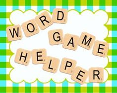 Scrabble clipart kind word Scrabble Friends Word  Nice