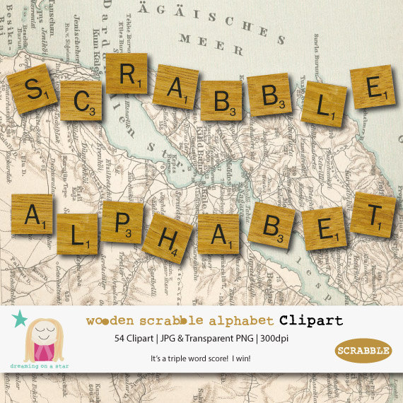 Scrabble clipart kind word Tile Clipart Clipart Letters