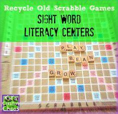 Scrabble clipart language art Arts Scrabble Center Wood Sight