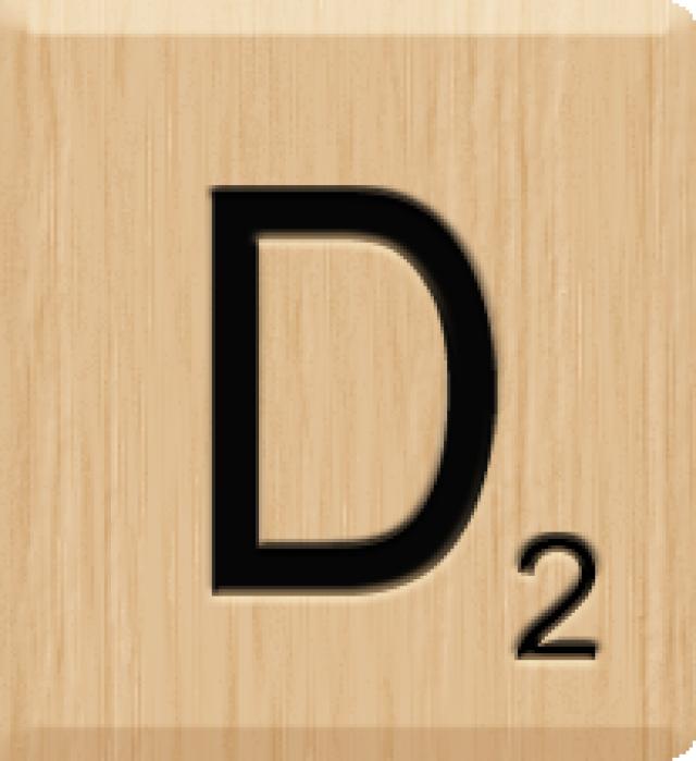 Scrabble clipart language art And art Tile Art Clip