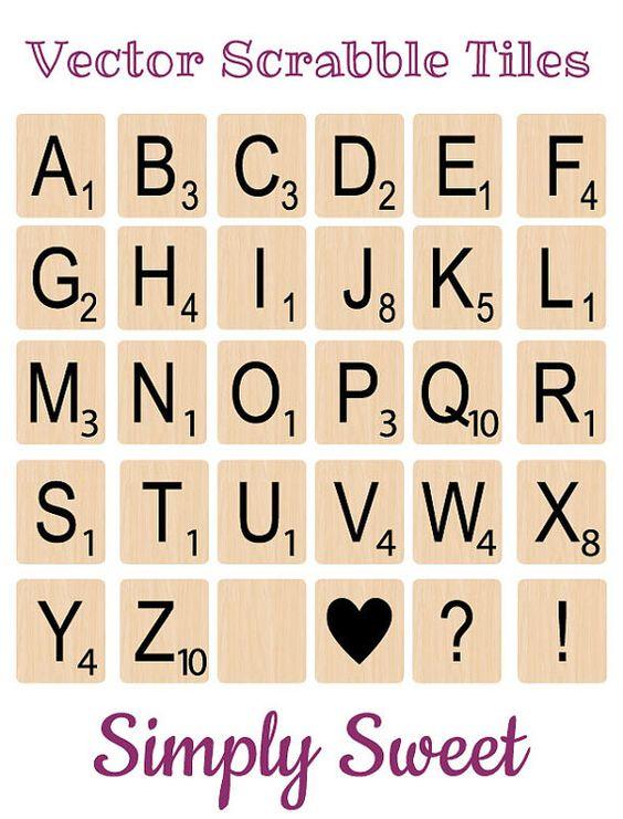 Scrabble clipart letter t Cliparts Tile Tiles Zone Download