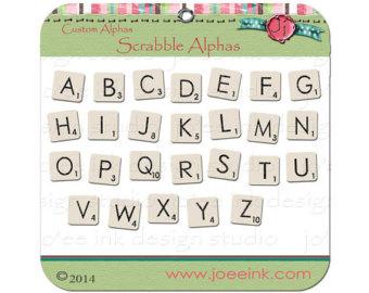 Scrabble clipart letter t Scrabble art Graphics Alphabet tile
