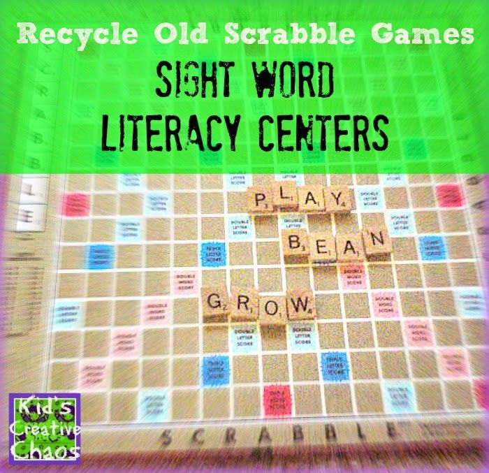 Scrabble clipart literacy station Images about  best on
