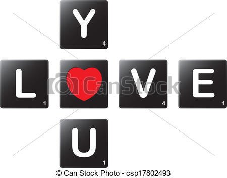 Scrabble clipart logo #5