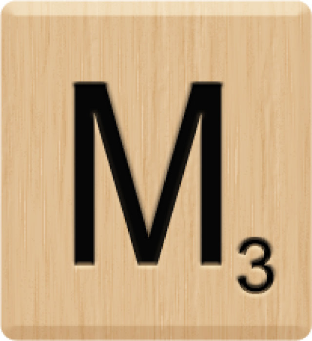 Scrabble clipart logo #7