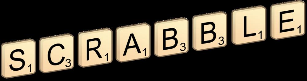 Scrabble clipart logo #9