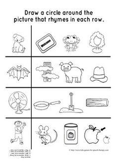 Scrabble clipart phonological awareness Rhyming Games Pinterest on Activities