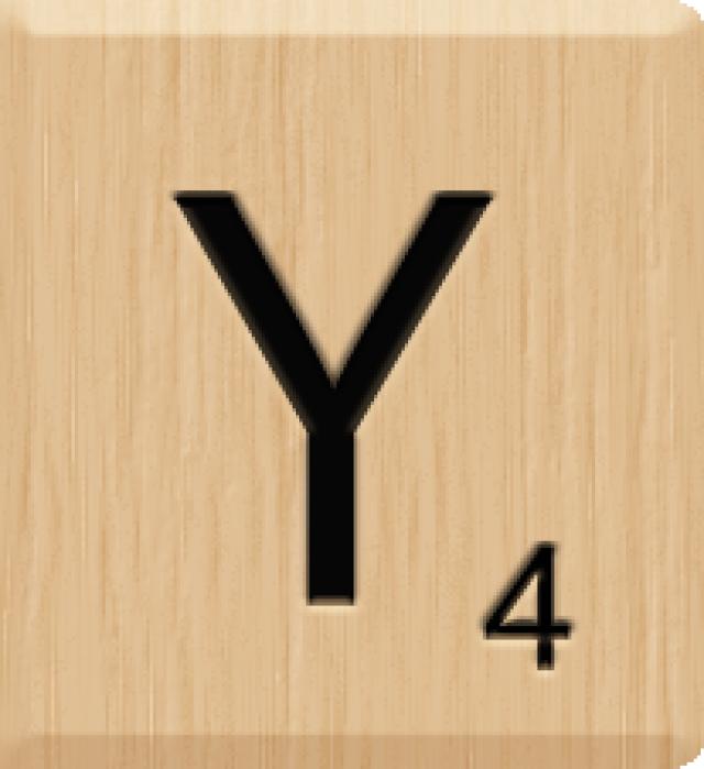Scrabble clipart scrabble letter Great Clip Tile Y Scrabble