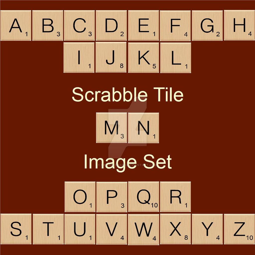 Scrabble clipart scrabble tile #8