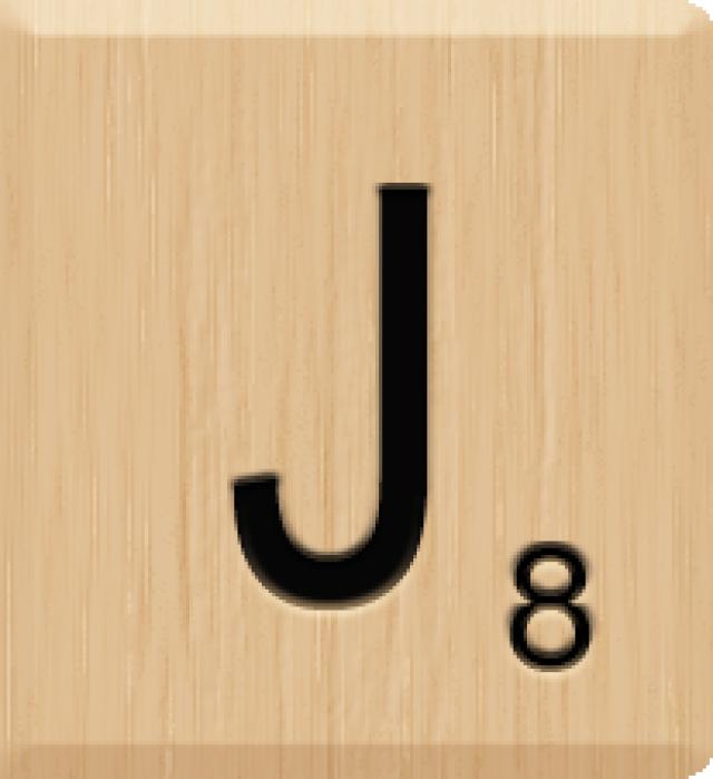 Scrabble clipart scrabble tile #4