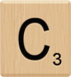 Scrabble clipart scrabble tile #5