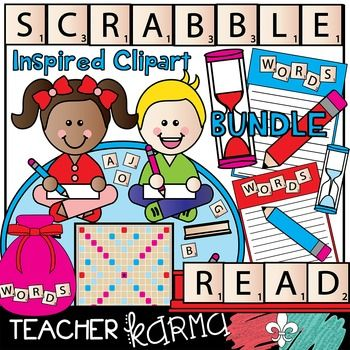 Scrabble clipart spelling Graphics Letter Words * Clipart
