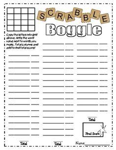 Scrabble clipart spelling rule Scrabble Scrabble FREE worksheet used