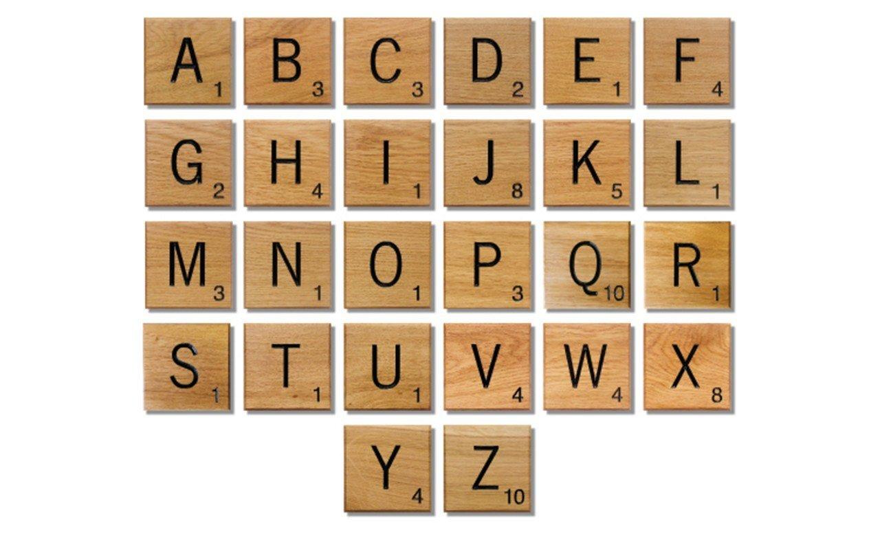 Scrabble clipart wall #1