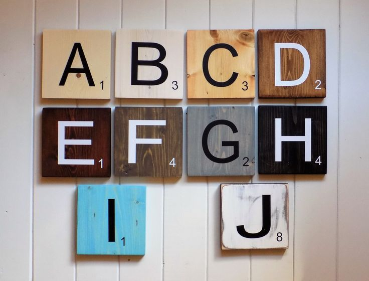 Scrabble clipart wall #3