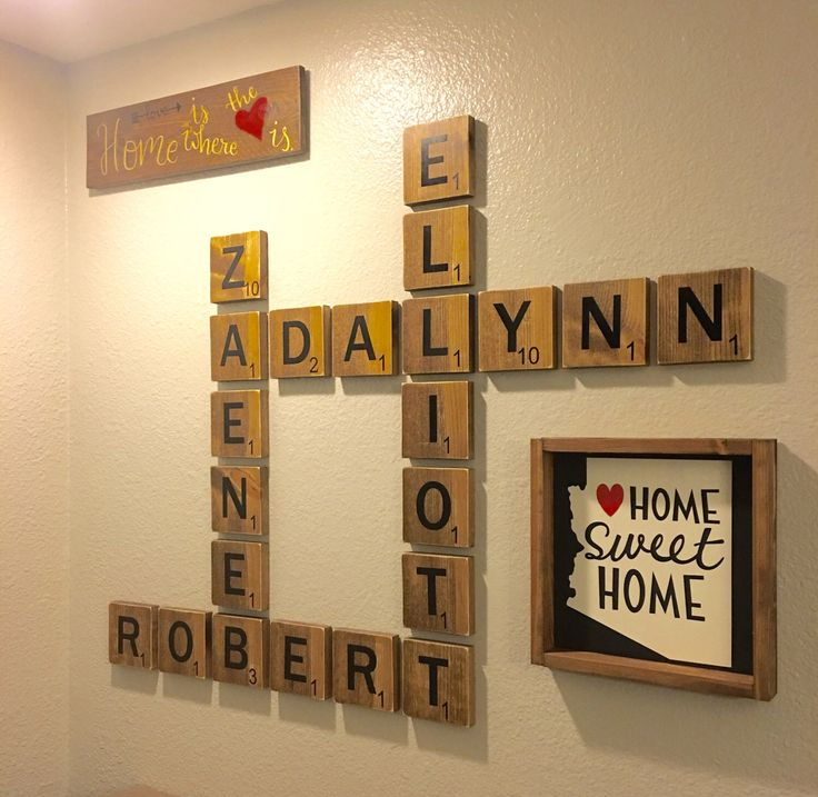 Scrabble clipart wall #7