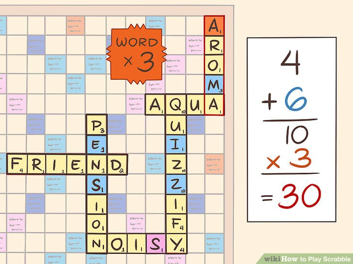 Scrabble clipart word study #14