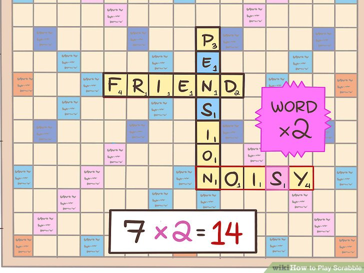 Scrabble clipart word study #3