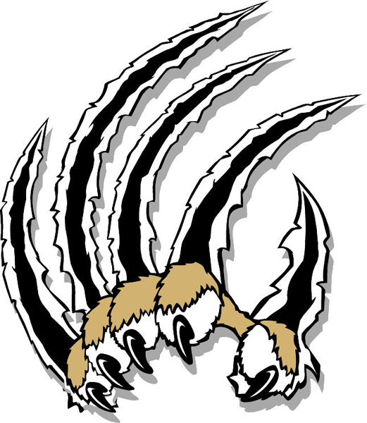 Wolverine clipart cat claw Clipart Cat Tiger Scratching Zone