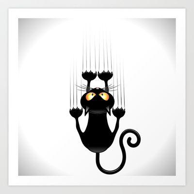 Scratches clipart cat scratch Print Cartoon Pinterest 25+ Cat